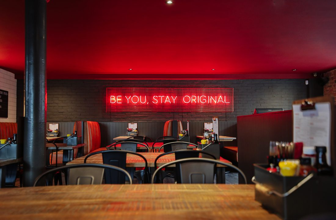 Glasgow taproom bar 4