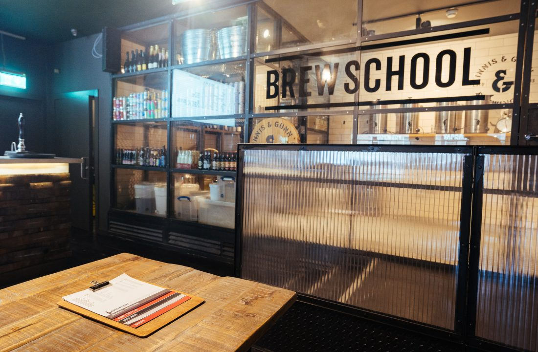 Dundee taproom brewschool