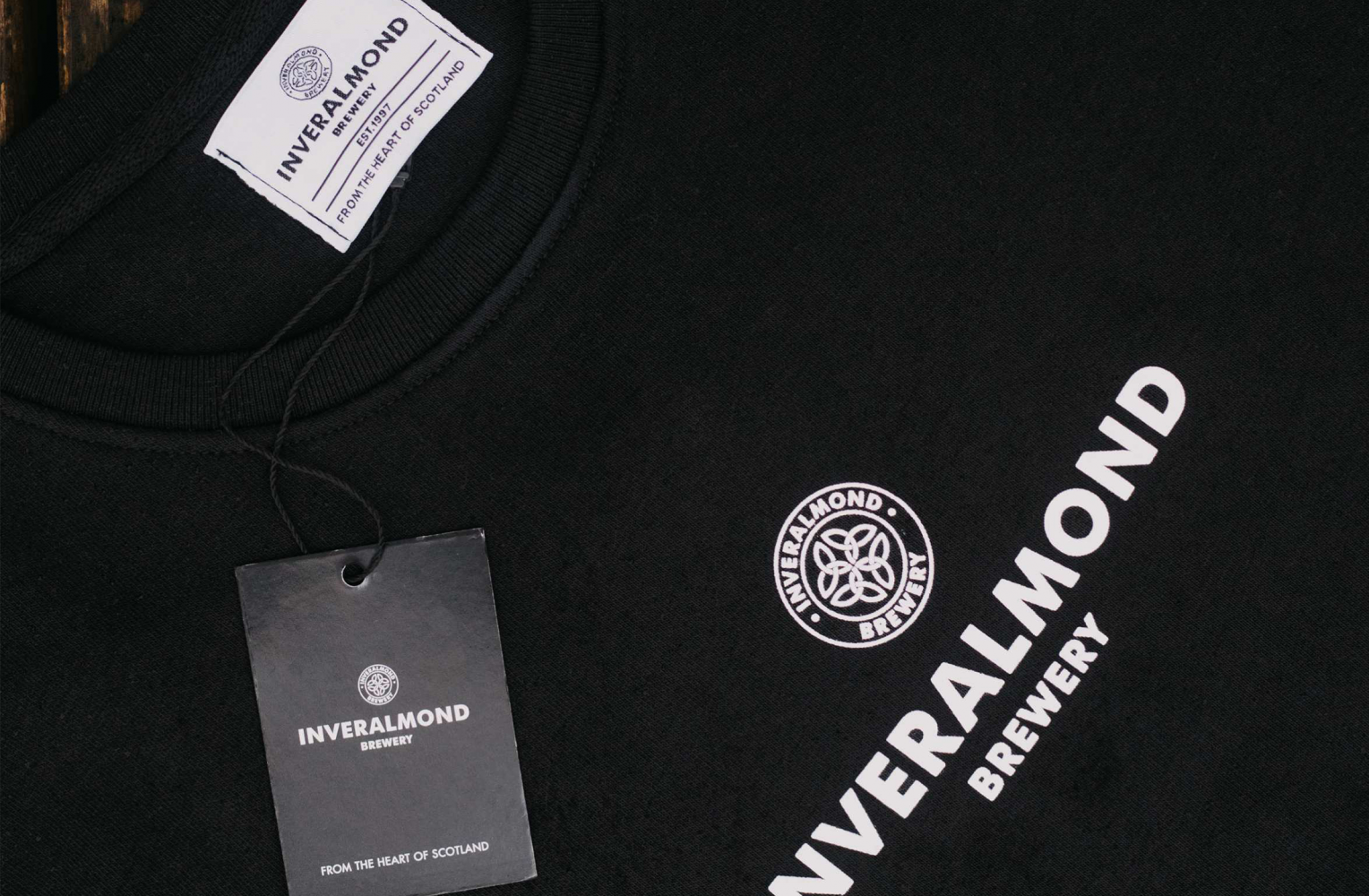 Inveralmond Sweatshirt close up