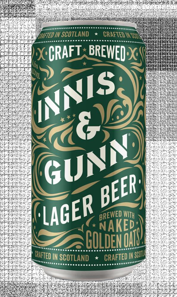 Innis gunn lager beer 440ml can