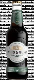 Irish whiskey cask bottle